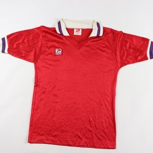 80s Patrick Mens Small Spell Out Soccer Jersey